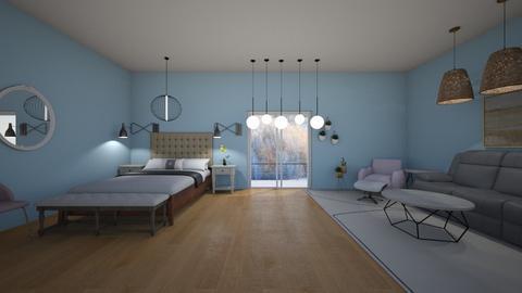 winter bedroom - Bedroom  - by 29catsRcool