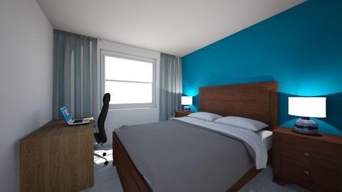 room - Modern - Bedroom  - by mariusvv