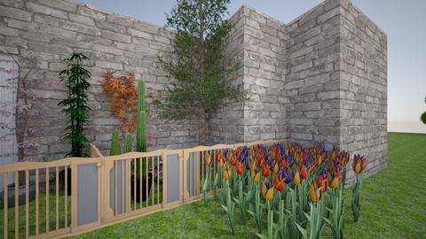 Outdoor Balcony  - Rustic - Garden - by LovelyLadyB