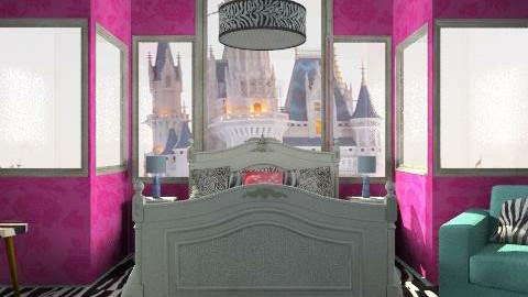Girl Bedroom - Glamour - Bedroom  - by obiobi9