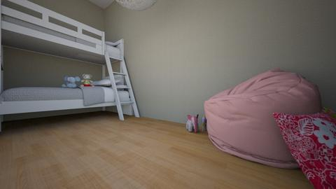 Sophie and Molly room  - Modern - Kids room  - by NoNo TONY