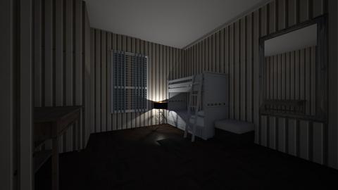 simple bedroom - Modern - Bedroom  - by saif_malay