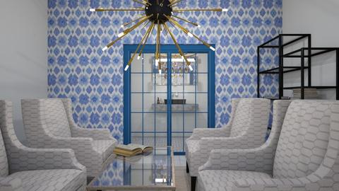 Lounge room with bathroom - Modern - by idontcareaboutaname