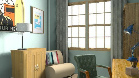 Station Road Office - Classic - Office  - by Lilianna