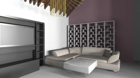 Modern italianremi living - Minimal - Living room  - by mtony