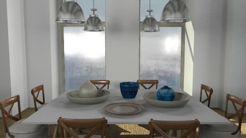 navy1 - Country - Dining room  - by naki1