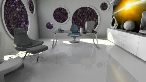 futuristic office - Modern - Office  - by miadesign
