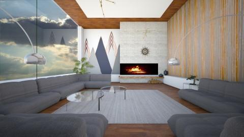 MCM - Minimal - Living room  - by camilla_saurus