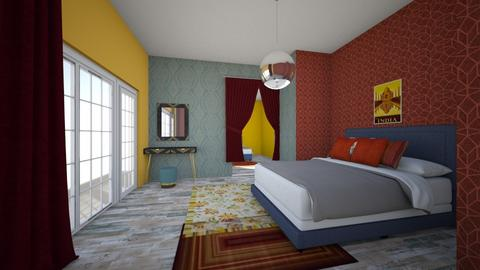 india colours contest - Bedroom  - by Amy Robberts