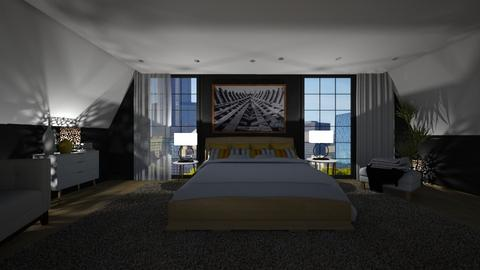 Sloping - Bedroom  - by rosanebpf