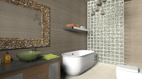 Modern Bathroom 4 - Retro - Bathroom  - by tillsa98