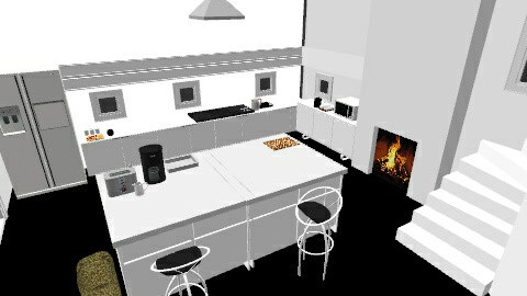 Kitchen - Glamour - Kitchen  - by Lucrecia Micaela