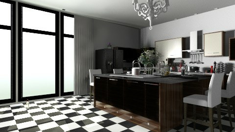 woody - Minimal - Kitchen  - by nataliaMSG