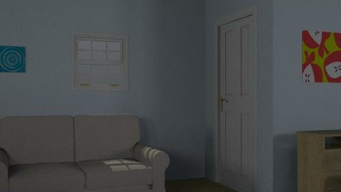 study and bedroom - Minimal - Office  - by stewee