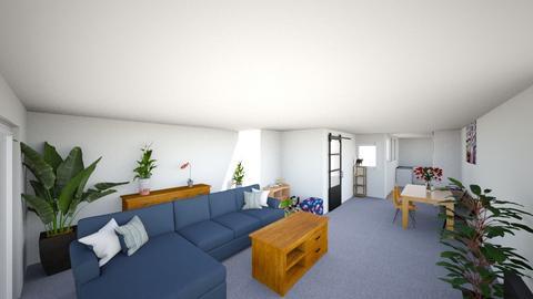 Huiskamer en keuken af - Rustic - Living room  - by jessicajung