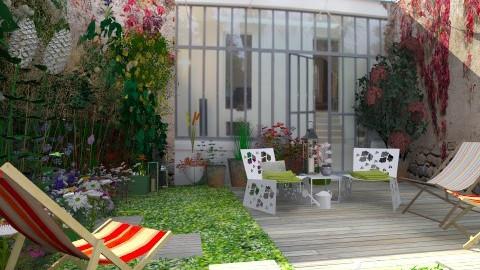 jardin fouilli - Garden  - by calu13