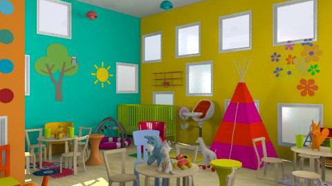 day care - Modern - Kids room  - by trees designs