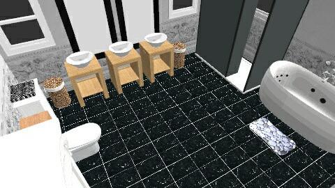 Bathroom - Classic - Bathroom  - by HogwartsPandaBear