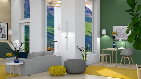 BYG home office - Office  - by siljaj