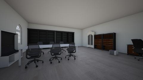 my dream room 3 - Office - by A_R_P