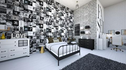 classyfashionteenroom - Bedroom  - by tahliawaters