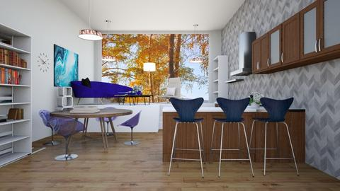 open plan space  - Eclectic - by martinini