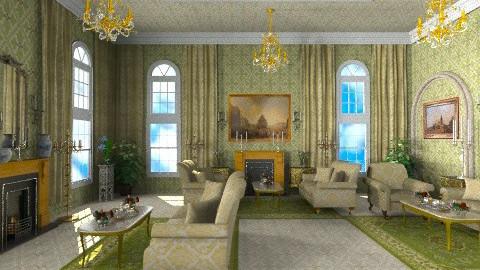 The Queen Tea - Classic - Living room  - by Bibiche