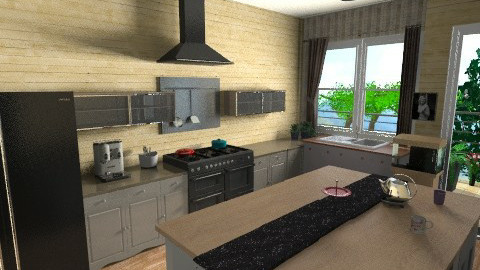 WK - Country - Kitchen  - by vanette