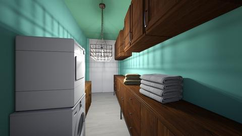 Towel Closet Apartment 1  - by Ayayako