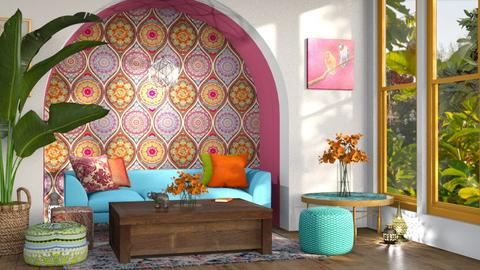 indian living - Living room  - by sam_jbrown