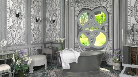 Le Bain - Classic - Bathroom - by Bibiche