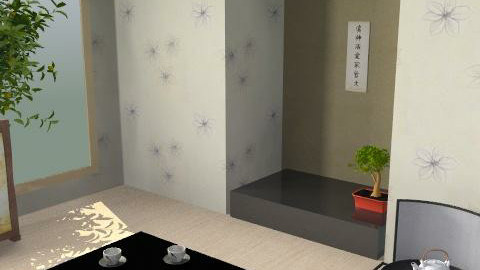 Casa de Té2 - Minimal - Living room  - by sacerdote