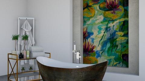 Lily Pond Bathroom - Bathroom  - by nikolin_