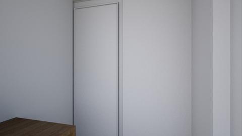 Apartment Room - Minimal - Bedroom  - by thepurpleshnurpler