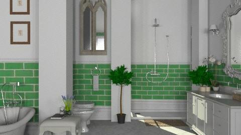 Moss Green - Classic - Bathroom - by Carliam