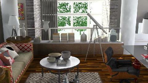 UP OFFICE - Retro - Office - by naki1