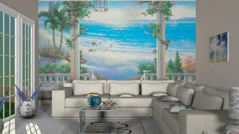 Mural - Minimal - Living room  - by milyca8