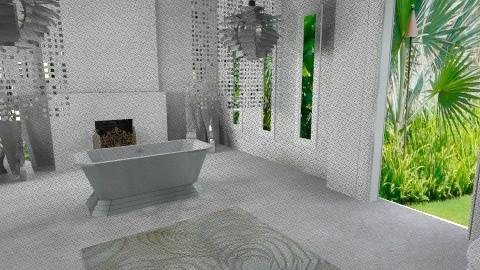 ModernBathroom - Eclectic - Bathroom  - by anetzham