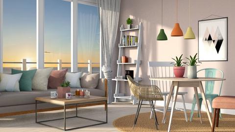 Playful Living - Living room - by Kamila Nunes Monteiro