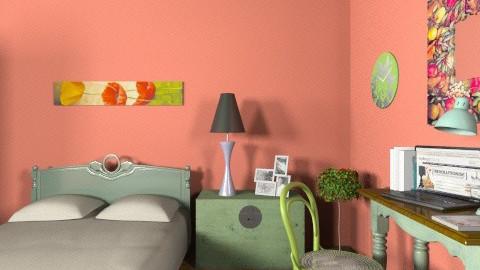 Solely - Eclectic - Bedroom  - by milyca8