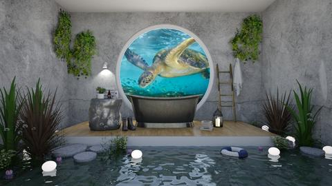 Under the sea - Global - Bathroom - by unicornlovescupcakes101