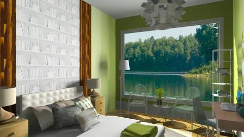 Green Lakesidee - Eclectic - Bedroom  - by katiesavic