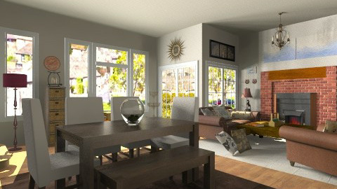 Room - Country - Living room  - by hetregent