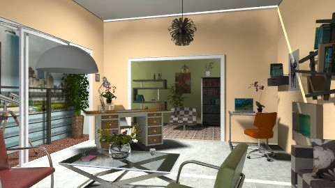 Private office  - Modern - Office  - by milyca8