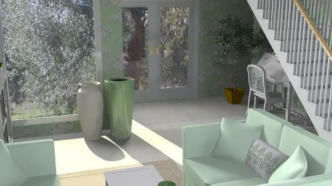 ulivo - Glamour - Hallway  - by catcarla