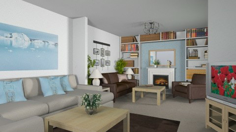 For Careyledford - Eclectic - Living room - by Theadora