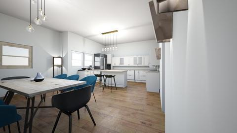 Kitchen new house - Kitchen  - by initaa13