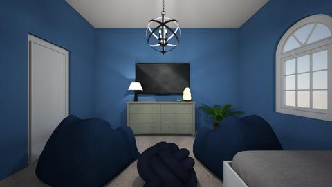 The Blue Room - Bedroom  - by london2002