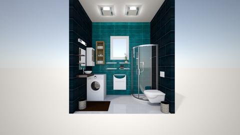 small bath 1 - Minimal - Bathroom - by ArtLiveRepeat