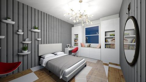nice cozy bedroom - Glamour - Bedroom  - by Merily